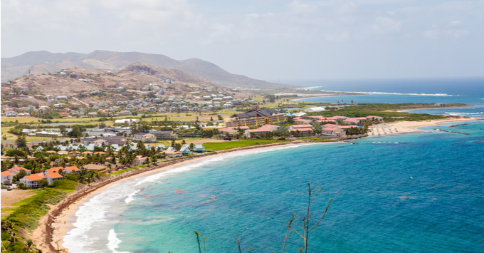 View of St. Kitts