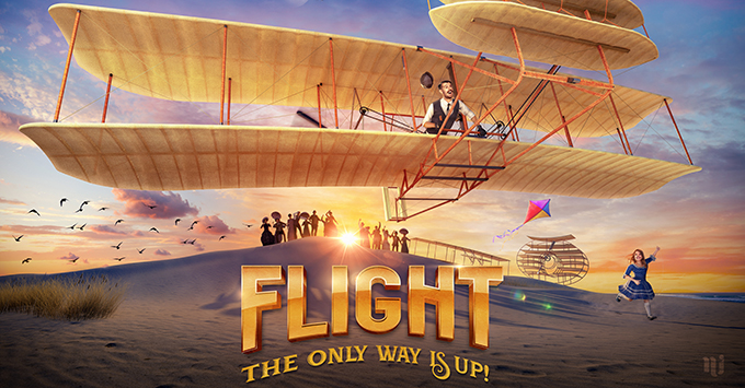 Promo of the production show 'Flight' to be featured on Symphony of the Seas