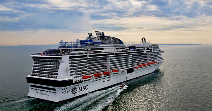 New York To Welcome New Cruise Ship MSC Meraviglia In MSC - Cruises departing from ny