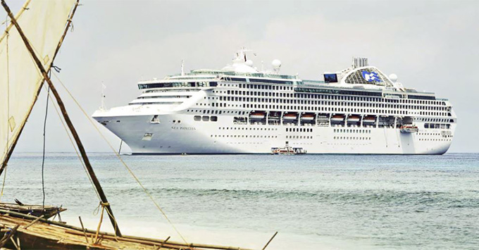 Sea Princess Cruise Ship Emerges From Dry Dock Cruise Critic - Where is the sea princess cruise ship now