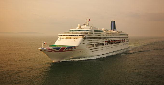 Oriana at Sea