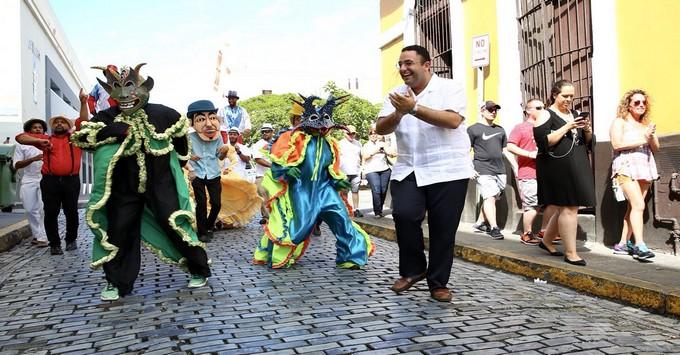 Festival celebrating the reopening of San Juan