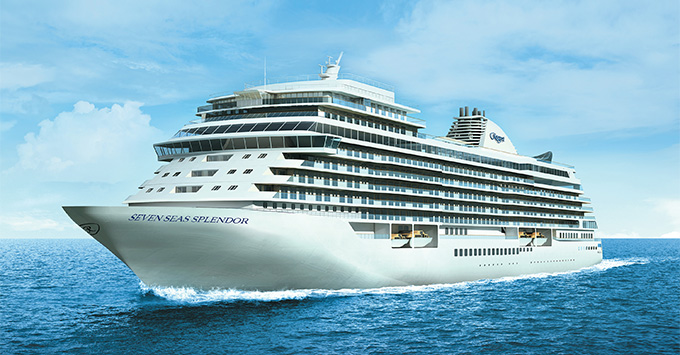 Artist rendering of Seven Seas Splendor
