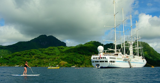 Highlights from our Tahiti cruise on Windstar