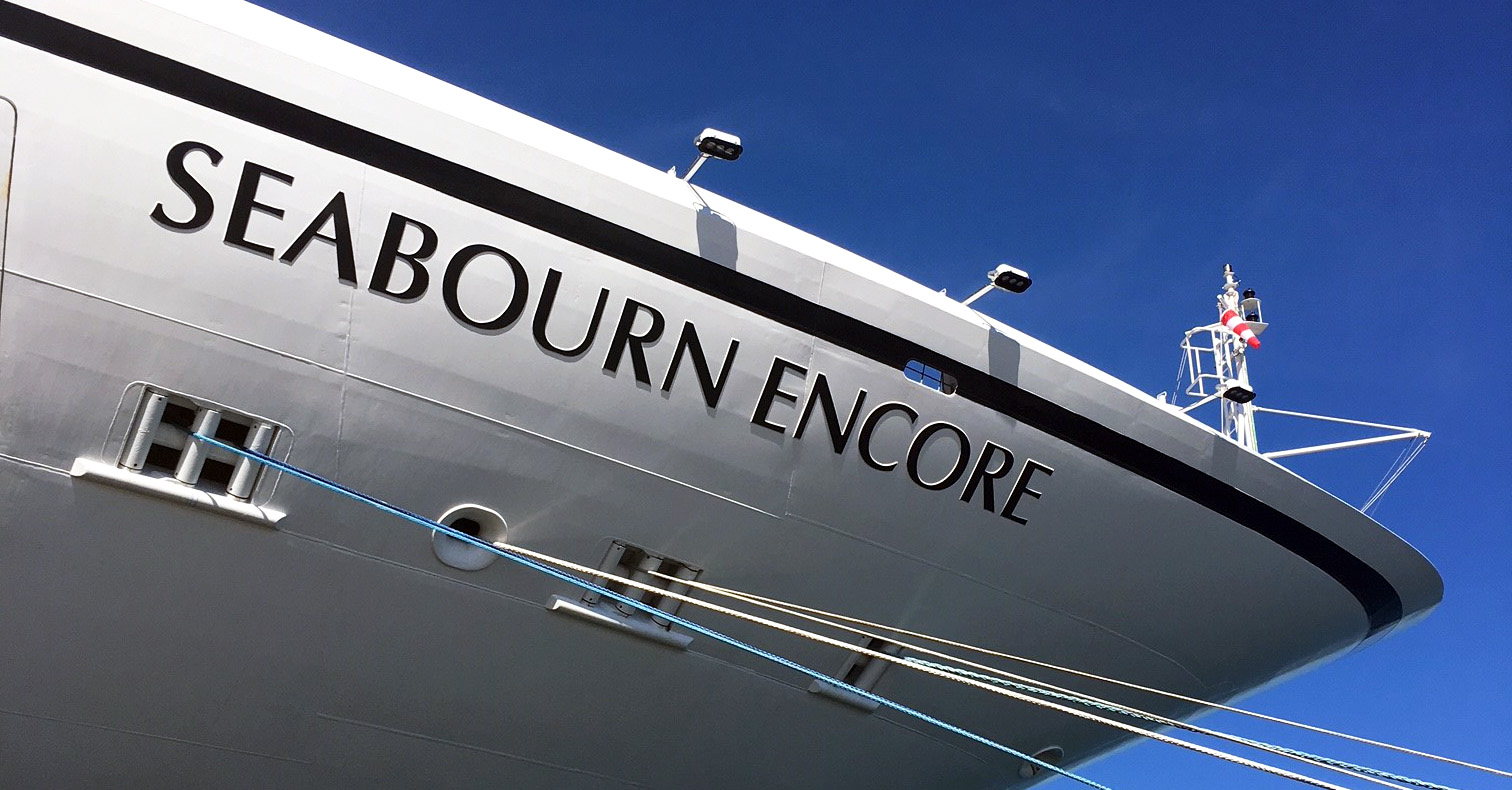 Live From Seabourn Encore Australia S Most Luxurious