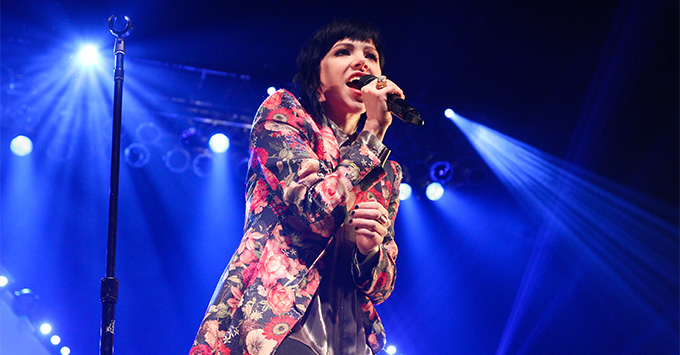 Carly Rae Jepsen performs onstage at the Paramount on March 26, 2016 in Huntington, New York.