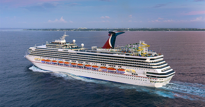 Carnival Sunshine To Sail YearRound From Charleston In - Cruise ships out of charleston south carolina