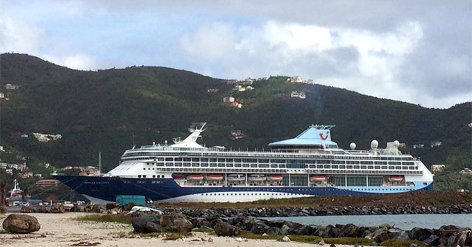 Marella Cruises in ship Tortola