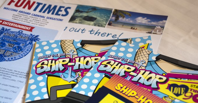 Ship-Hop Cruise programs on Carnival Sensation