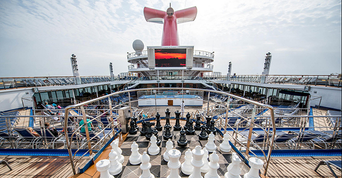 Carnival Victory Pool Deck