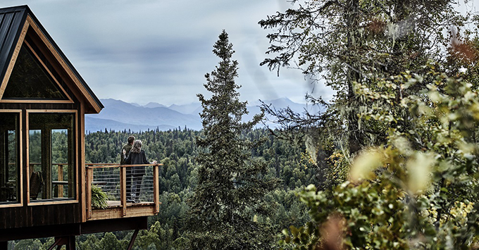 Princess Treehouse at Mt. McKinley Princess Wilderness Lodge