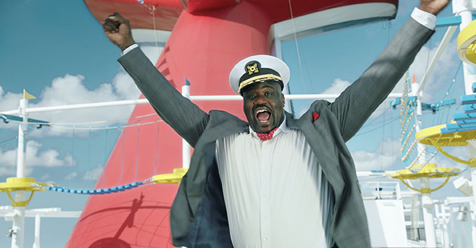 Shaquille O'Neal Named Chief Fun Officer of Carnival Cruise Line
