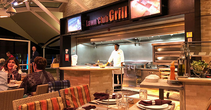 The Lawn Club Grill on Celebrity Silhouette