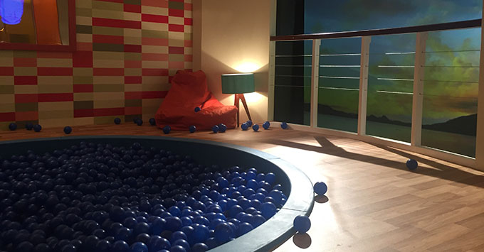 Symphony of the Senses Ball Pit Family Suite