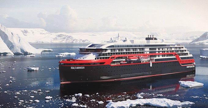Hurtigruten's Roald Amundsen