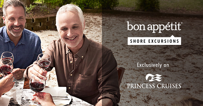 The Bon Appetit shore excursions promo