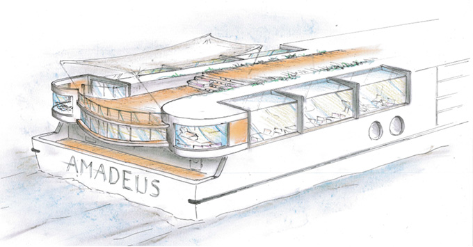 Rendering of Amadeus Star