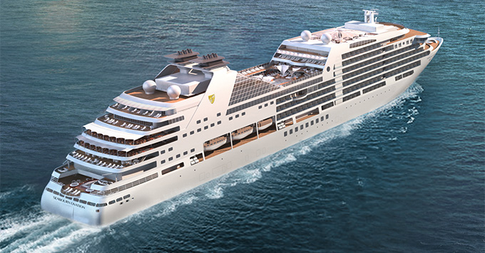 Seabourn Ovation rendering