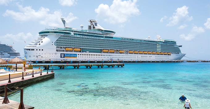 Freedom of the Seas in Cozumel