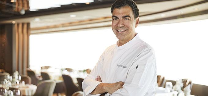 Michelin-starred Spanish chef Ramon Freixa will create new menu items for MSC Cruises