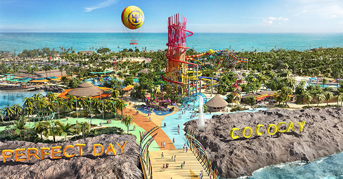 Rendering of the new CocoCay