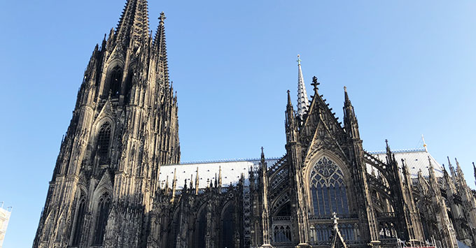 Touring the Cologne Cathedral
