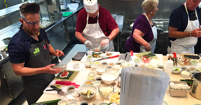Food Network Chefs to Teach Cooking Classes
