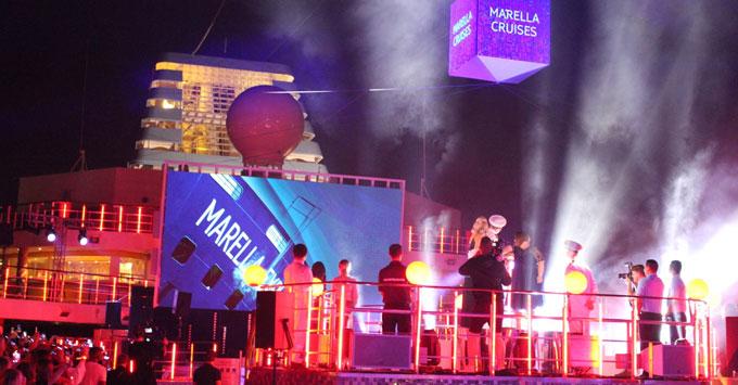 Craig David Performs on Marella Explorer