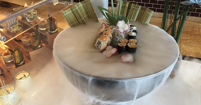 Sushi from the restaurant Kora La on Marella Explorer