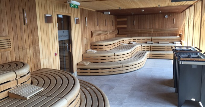 Sauna in Champneys Spa on Marella Explorer