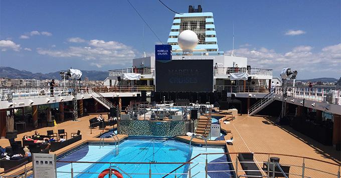 Marella Explorer pool deck