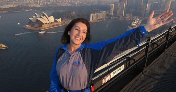 Jane Climbs Sydney Harbour Bridge
