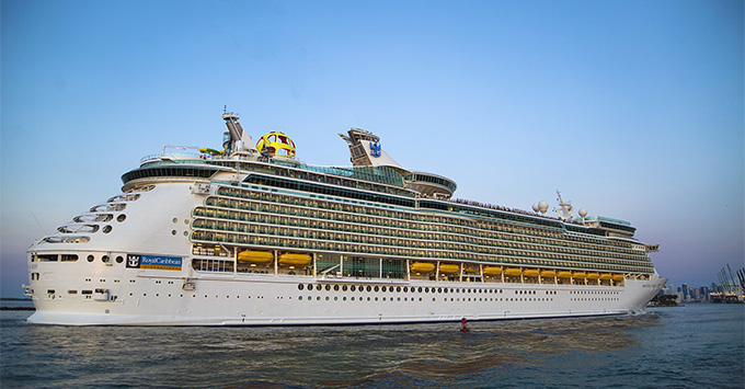 Mariner of the Seas ship exterior