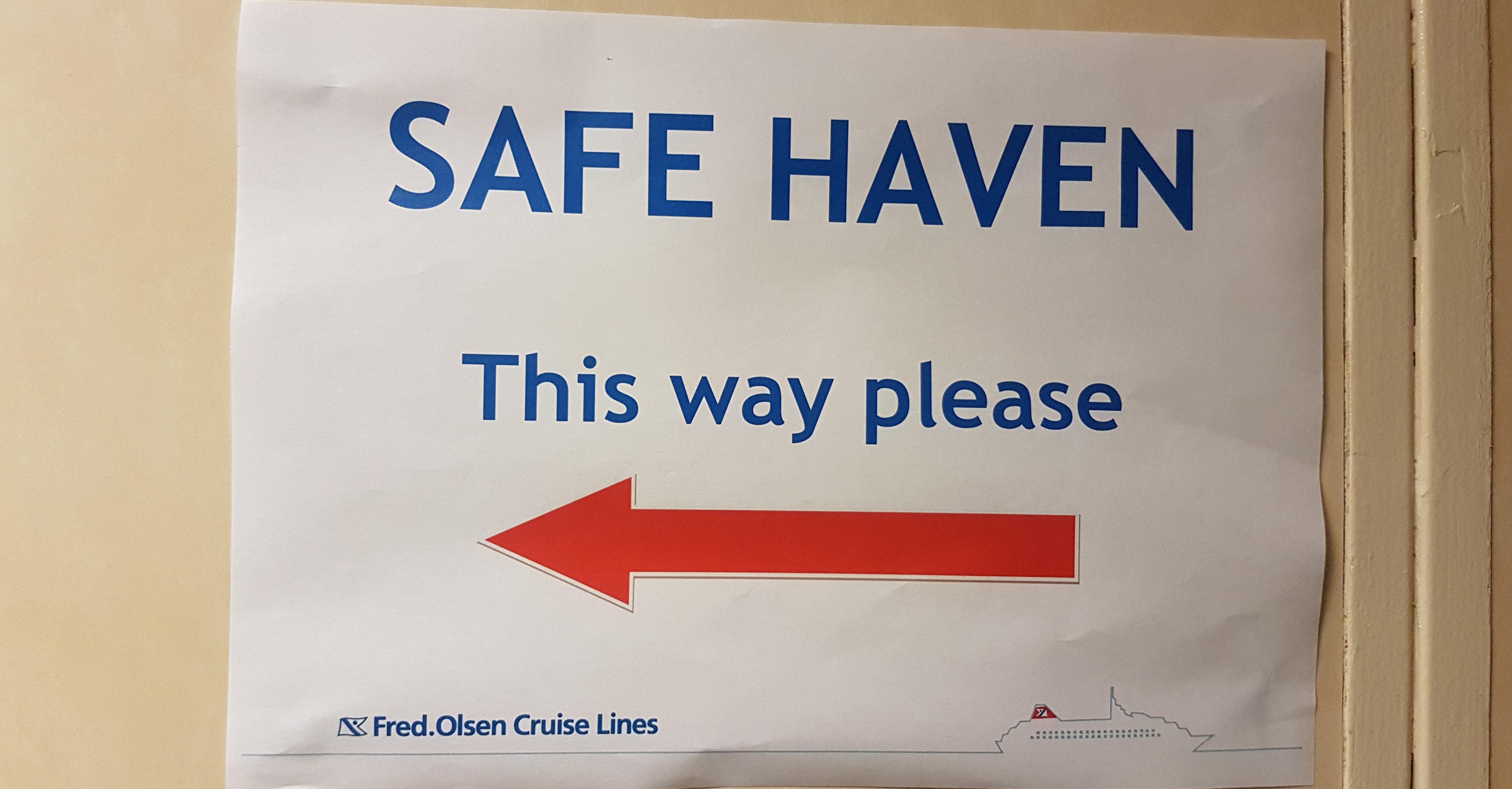 Fred. Olsen Black Watch World Cruise Safe Haven