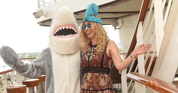 Shark Week on Princess Cruises