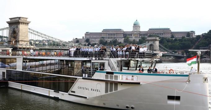 Crystal Ravel's christening in Budapest