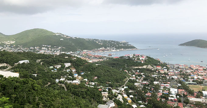View of St. Thomas
