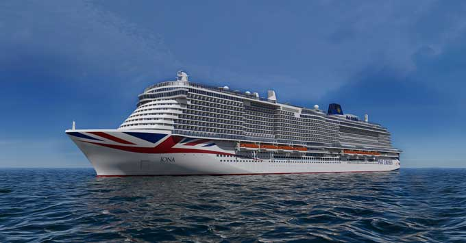New P&O Cruises Itineraries