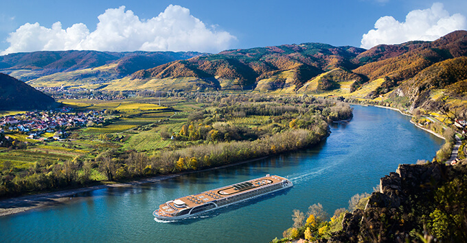 Ama Magna rendering river cruise