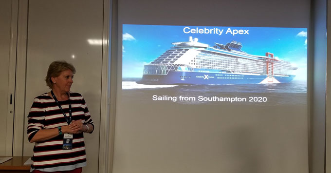 Celebrity Crusies MD Jo Rzymowska Announces Apex in UK
