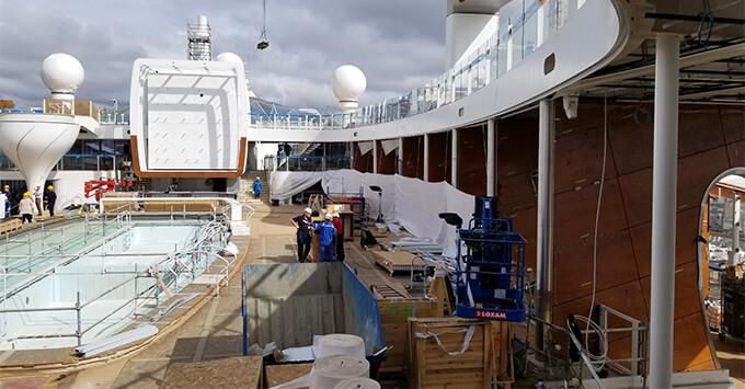 The Resort Deck on Celebrity Edge