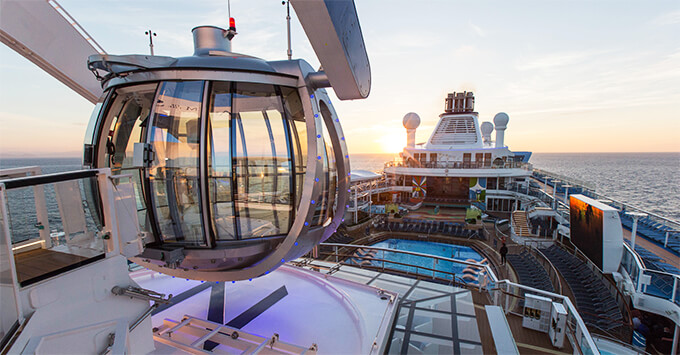 Caribbean Cruise 2020.Royal Caribbean S Anthem Of The Seas To Return To The Uk In 2020