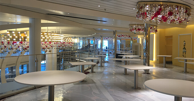 Main Dining Room on Nieuw Statendam