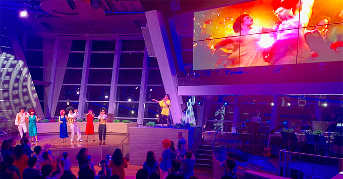 Performance in Two270 on Quantum of the Seas