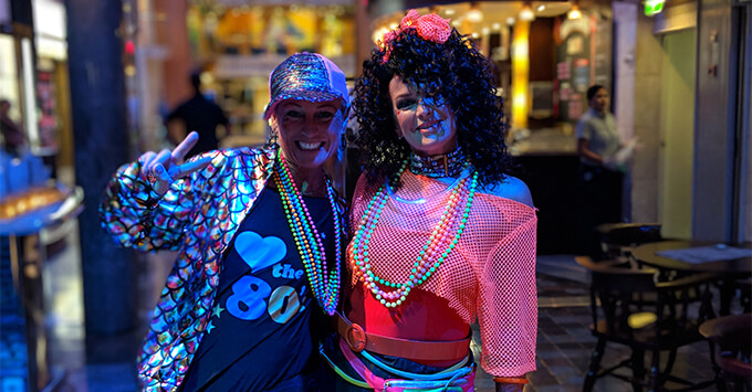 Passengers on The '80s Festival at Sea