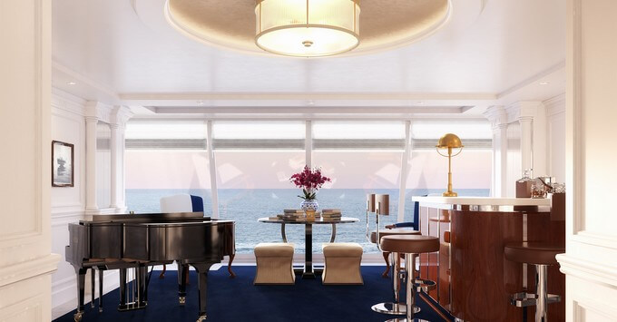 The forthcoming OceaniaNEXT post-refurb Owner's Suite