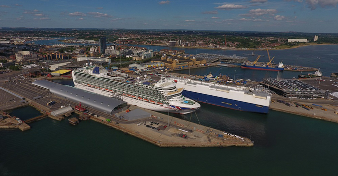 Cruises From Southampton >> Port Of Southampton Gears Up For P O Cruises Iona Launch