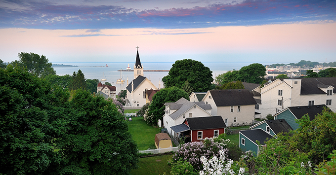 Mackinac Island, Michigan, Great Lakes