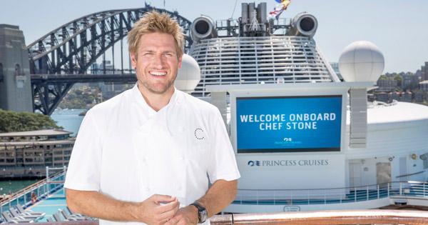 Celebrity Chef Curtis Stone Visits Princess Cruise Ship Princess Cruises