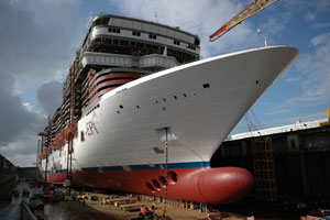 Norwegian Epic at Shipyard